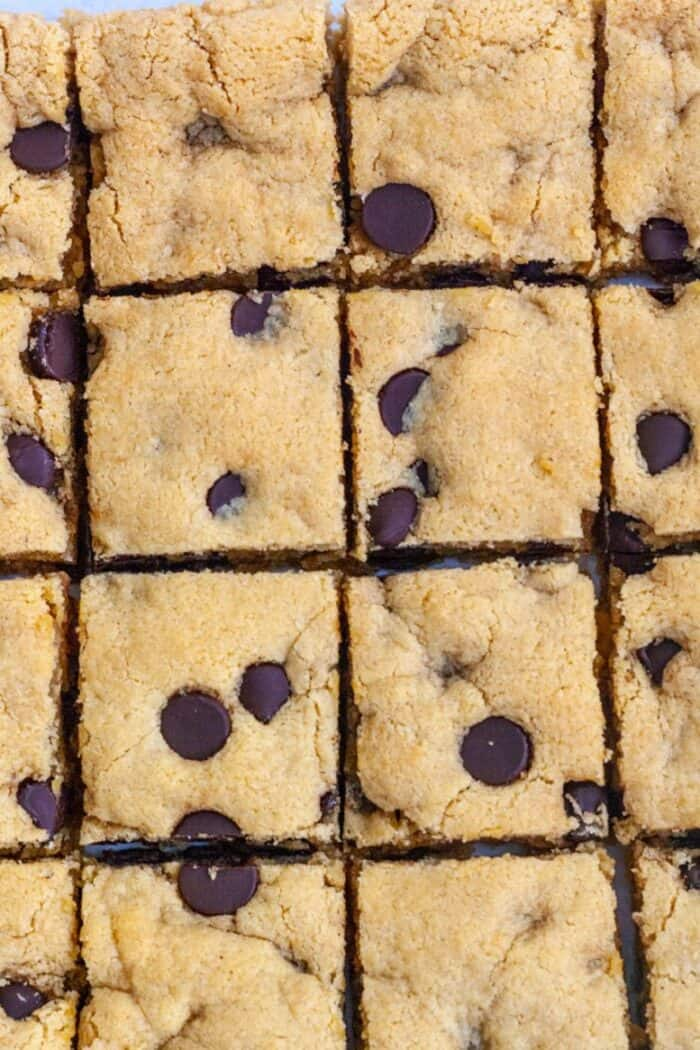 PALEO BLONDE BROWNIES - Organically Addison